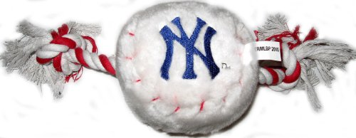 New York Yankees Rope Plush Dog Toy, My Pet Supplies