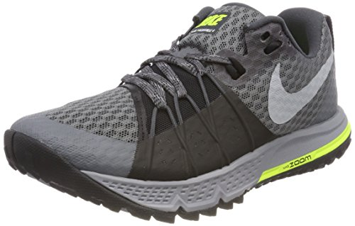 NIKE Air Zoom Wildhorse 4 Size 9 Womens Running Dark Grey/Wolf Grey-Black-Stealth Shoes ()