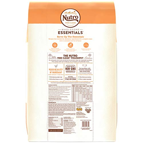 NUTRO WHOLESOME ESSENTIALS Natural Puppy Large Breed Dry Dog Food Farm-Raised Chicken, Brown Rice & Sweet Potato Recipe, 30 lb. Bag