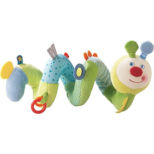 HABA Spring Worm Activity Spiral Car Seat & Crib Toy