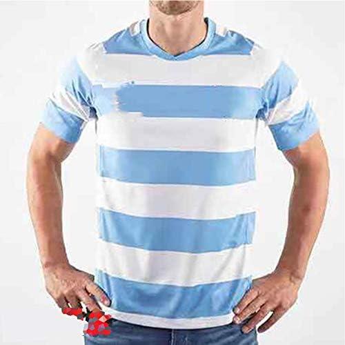 ラグビージャージ2019日本ワールドカップアルゼンチンホームトレーニングジャージーファンスウェットシャツスポーツウェアTシャツ男性用、完璧な