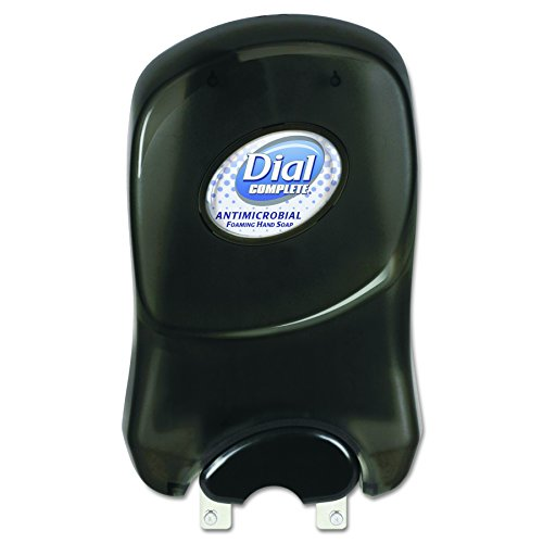 Dial Professional 05028 Duo Manual Soap Dispenser, 7 1/4 x 3 7/8 x 11 3/4, 1250 mL, Smoke