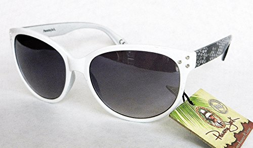 (2 PACK) Panama Jack Womens Rhinestone Accent Sunglasses (1335)- Bonus Cleaning - Jack Panama Polarized Sunglasses