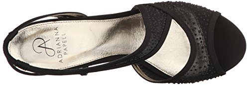 Adrianna Papell Womens Andie Dress Sandal Black knohN