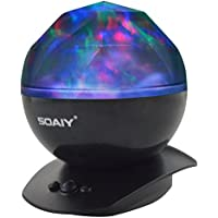 SOAIY Color Changing Aurora Projection Led Night Light...