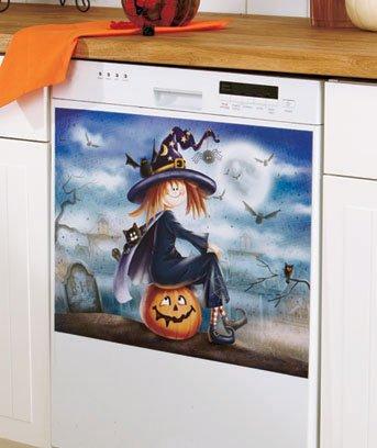 Halloween Seasonal Dishwasher Magnet by LCI