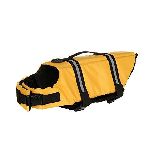 GOGO Doggy Life Jacket, Dog Safety Vest - Life Doggy Jacket Yellow