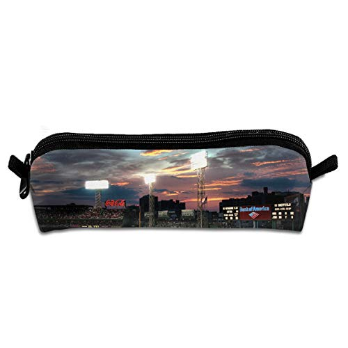 KutLong Fenway Park Boston Massachusetts Baseball Park Student Pencil Pen Case Zipper Pouch Small Cosmetic Makeup Bag Coin Purse?for Kids Teens and Other School Supplies