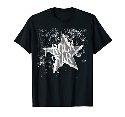 Born To Be Rock Star T-Shirt Rock N' Roll - Music Tee -