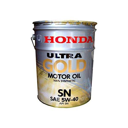【HONDA】ULTRA GOLD エンジンオイル 20L API:SN (5W-40) (08220-99977) B0092KYVP4