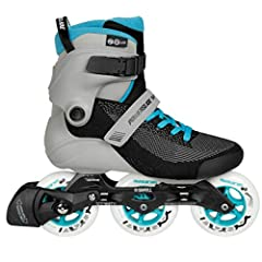 Powerslide SWELL LITE Blue Grey 100A new version fo SWELL, cleaner, simpler, with liner. The Powerslide SWELL LITE 100 is a revolutionary inline skate specially designed for fitness skating. This skate features our anatomically shaped shell w...