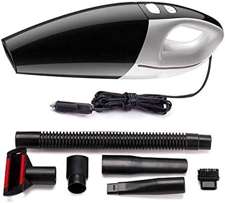 Aspirador de mano para coche Aspirador de 120W de alta potencia y acero inoxidable Filtro de cigarrillos Encendedor Conexión de enchufe para encendedor Adecuado para vehículos de automóvil DC / 12V: Amazon.es: