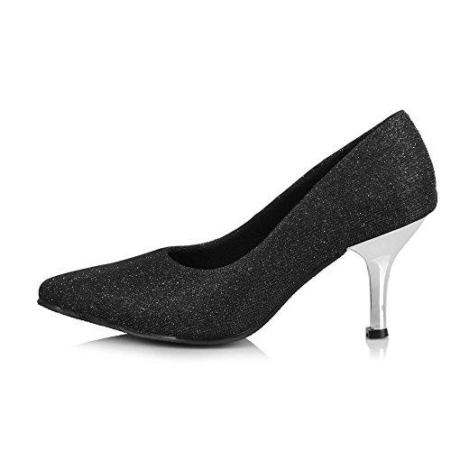 YFF YFF Puntera cerrada profesional Zapatos de baile moderno Tango Salón de cuero partido Salsa Latin C30603