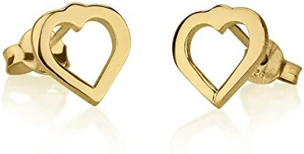 oNecklace Cut Out Heart Earrings