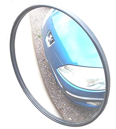 Totwinkelspiegel Sicherheitsspiegel Stra/ßenverkehrsspiegel Au/ßeneckspiegel Anti-Dieb-Garage Konvexspiegel Kugelspiegel,30cm DLC Au/ßenverkehr Weitwinkelobjektiv