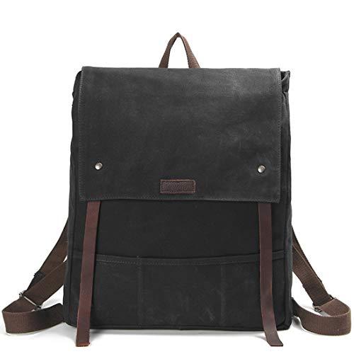 timeless design afa8e ac2ab Impermeable Bolsa Black Batik color Retro Tela Viaje Hombres De Black Para  Bandolera Haxibkena fxnROf