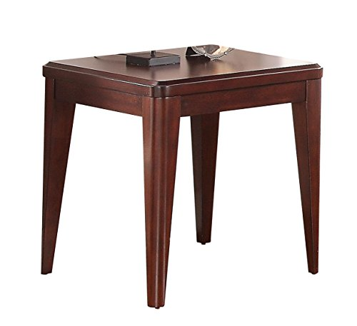 Homelegance Beaumont Contemporary End Table, Cherry (Homelegance Contemporary End Table)