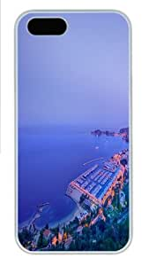 City Coastline PC Case Cover for iPhone 5 and iPhone 6 4.7 White