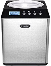 Whynter 2.1 Quart Upright Ice Cream Maker with Stainless Steel Bowl