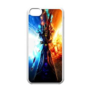 Cell Phone case World of Warcraft Cover Custom Case For iPhone 5C MK9Q783268