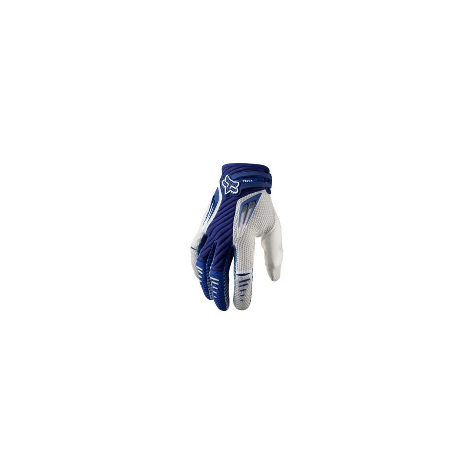 Fox Racing Platinum Gloves Blue/White Automotive