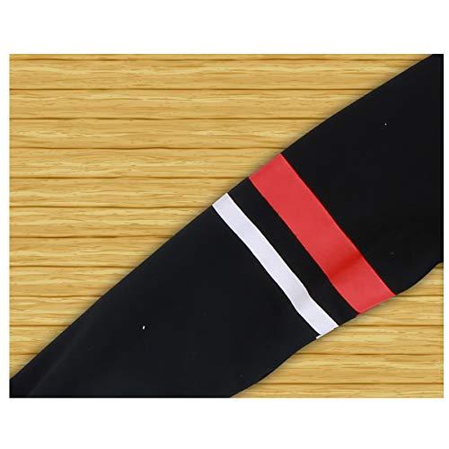 Boys Cotton 2PCS Clothing Sets Kids Long Sleeve Top Pant Set (12-13 Years/Tag 160, Black T-Shirt + Black Pant) by Haoguagua (Image #6)