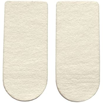"Pack Of 3 Care Achilles Inserts 2-1//2/"" X 5//16/"" Hapad Heel Pads WxH Cushion"