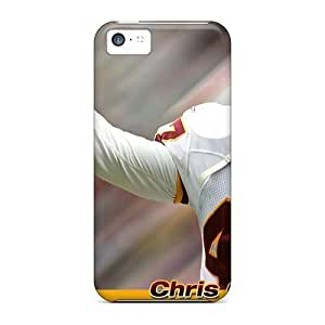 Durable Washington Redskins Back Cases/covers For Iphone 5c