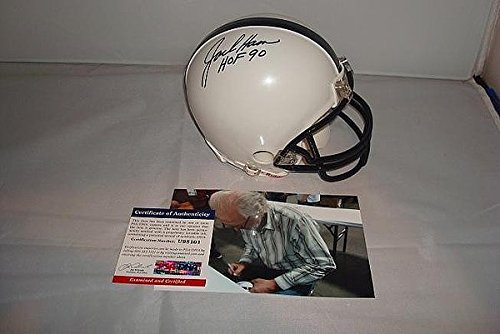 Jack Ham Signed Penn State Nittany Lions Mini Helmet - PSA/DNA Authenticated ()