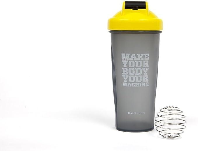 TRX Entrenamiento Botella batidora para refrescarse, Cargar Las Pilas y alimentarse Antes, Durante y después de los Entrenamientos