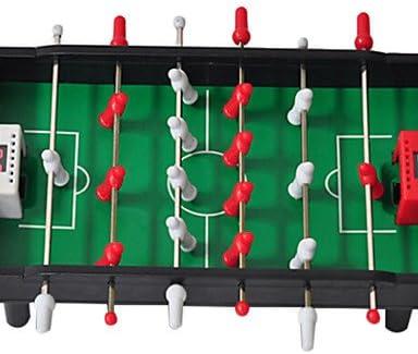 FYQ & Futbolín negro con detección electrónico puntuación ware de juguete: Amazon.es: Deportes y aire libre