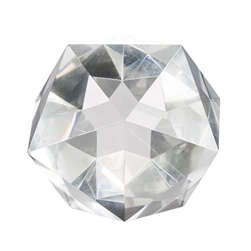 A&B Home Group Polygon Crystal Glass Table Decor 5x5x4
