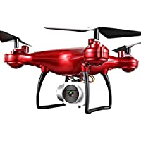 Alluing Heartbeat 1800mAh High Capacity Battery 4CH 6-Axis Headless Mode RC Helicopter Drone (AS Show)