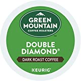 Green Mountain Double Black Diamond Extra Bold K-Cup Coffee, Totally 72 K-Cups For Sale