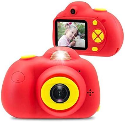 子供のカメラ、2インチ液晶画面とHDポータブルミニセキュリティ防水子供ビデオカメラ、少年少女3-7年間のギフト、赤