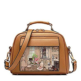 541b1a9c8cc3 Image Unavailable. Bloomerang New Leather Handbags Big Women Bag High  Quality Casual Female Bag Trunk Tote Spanish Brand