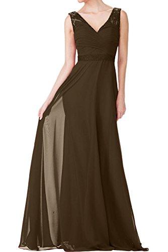 Braut mia Abendkleider La Etuikleider Burgundy Promkleider Elegant Festlichkleider Ballkleider Partykleider Schokobraun fHwqWB