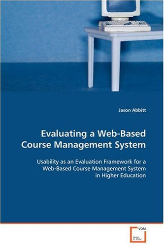 Evaluating a Web-Based Course Management System