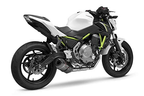 17-18 KAWASAKI EX650E: Yoshimura Alpha Full System Exhaust (Race/Stainless Steel/Carbon Fiber/Carbon Fiber/Works Finish)
