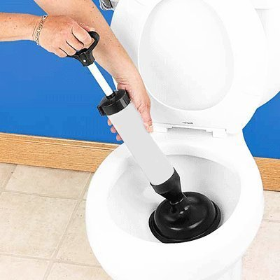 High Pressure Drain Buster Toilet Sink Unblock Plunger: Amazon.co ...