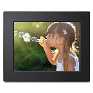 Viewsonic VFD823-50 8-Inch Digital Photo Frame with 800x600 High Resolution and Clock/Calendar (Black) (Discontinued by Manufacturer)