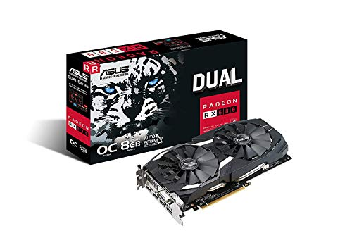 Asus RX 580 8GB Dual-fan OC Edition