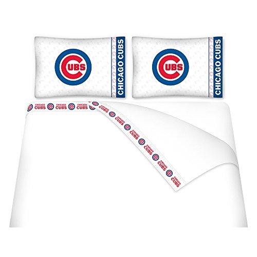 MLB Chicago Cubs Micro Fiber Sheet Set