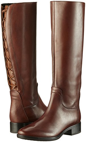 D brown Stivali A Felicity Geox Marrone Donna dZq6p7n