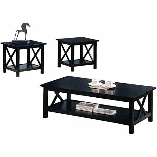 Briarcliff 3-piece Occasional Table Set Dark Merlot (Set Dining Room Merlot)