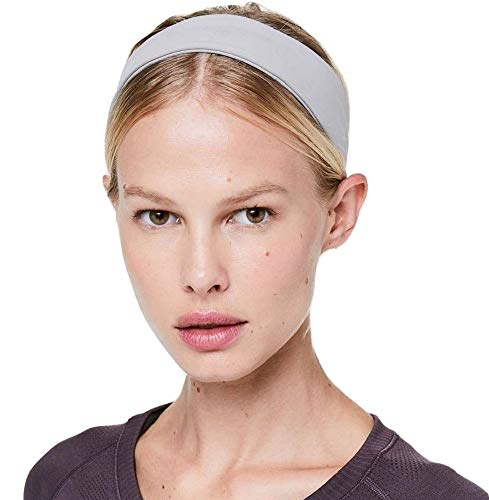 Lululemon Fly Away Tamer II Headband (Lavender Grey)