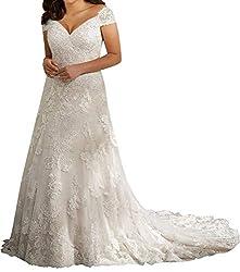 Wedding Dress Lace Bridal Dress Mermaid Off Shoulder Wedding Gown Plus Size Sweetheart