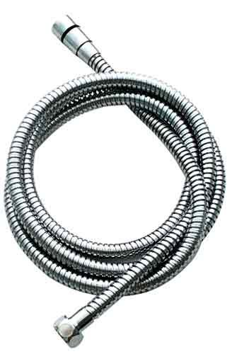Jaclo DSW-3060-PCH Double Spiral Brass Hose with Swivel End, Polished Chrome
