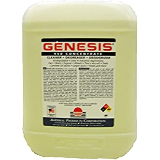 Genesis 950 Carpet Cleaning Solution, Pet Stain Remover & All Purpose Green Concentrate Cleaner - 2.5 Gallon Cube