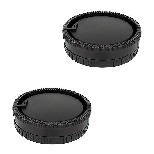 2 Pack Camera Body Cap & Rear Lens Cap Compatible for Sony A99II A99 A77II A77 A65 A58 A57 A55 A37 A35 A33 A900 A850 A700 A580 A560 DSLR Cameras with A Mount Lenses and for Minolta AF Mount Lenses (Best Lenses For Sony A580)